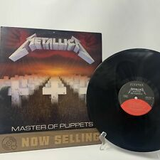 Metallica - Master Of Puppets Vinyl LP Original 1st Press Specialty