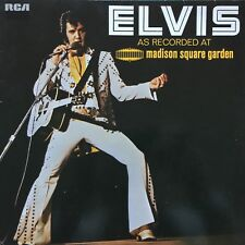 """VINYLE -  33T Elvis Presley """"Recorded at Madison Square Garden"""""""