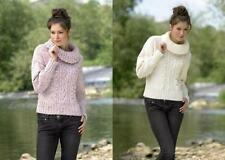Aran Contemporary Sweaters Patterns