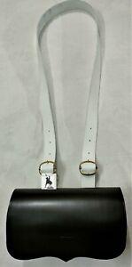 Revolutionary War Cartridge Box With White Belt