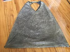 MM6 Rare !Martin Margiela Japanese Tote Bag Taupe Distressed Calfskin Leather