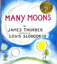 Many Moons by James Thurber (1973, Paperback, Reprint)