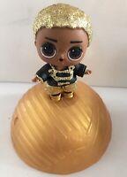 Lol Surprise Doll Boy Series King Bee Gold Glitter Rare