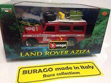 BURAGO 1 25 LAND ROVER AZIZA Quattroruote - Trans American Tour  - Made In Italy