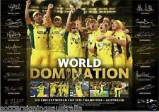 Australia 2015 ICC Cricket World Cup Champions Limited Print Only, Clarke