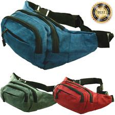 For Unisex Fanny Pack Waist Hip Belt Bag Purse Pouch Travel Pocket Sport Bum LOT