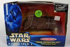 Star Wars Episodio 1 Acción Flota Trade Federation Mtt Con Droide de Batalla