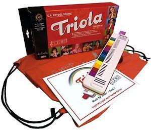 Triola 12 Kompakt-Set mit Tasche und mit dem Triola-Liederbuch  BAND 1