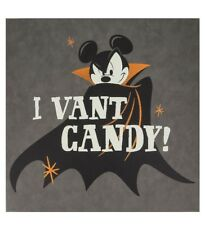2018 Disney Parks Mickey Mouse I Vant Candy Halloween Sign Walt Disney World