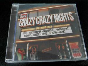 VARIOUS - CRAZY CRAZY NIGHTS - KISS, SCORPIONS, JUDAS PRIEST - 2CD - NEW CD