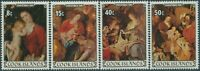Cook Islands 1981 SG827-830 Christmas set MLH