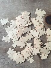 200 Pieces Baby Shower Confetti Baby girl/boy Teddy table Decorations-caramel