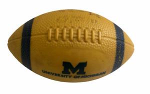 Vintage MICHIGAN University Collegiate U OF M 11/22/1969 GAME BALL UPSET VS OHIO