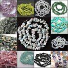 New natural freeform Gemstone chips loose Beads strand DIY jewelry making 16