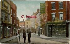 Gainsborough, Silver Street, Lincolnshire Postcard size image c 1908