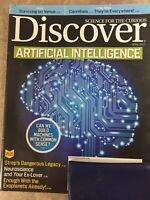 DISCOVER Magazine (Jan/Feb 2017) Scary-Smart Artificial Intelligence  ~ F607