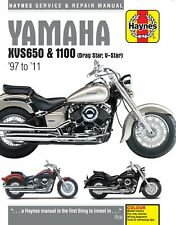 Haynes Manual 4195 - Yamaha XVS650 & XVS1100 Drag Star/V-Star (97 - 11)