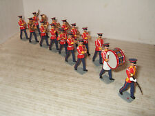 Rare Replica Soldiers, 16 Piece British Line infantry Band in flatcaps in 54mm