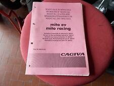 MANUALE OFFICINA CAGIVA 125 MITO EV  RACING  Cartaceo
