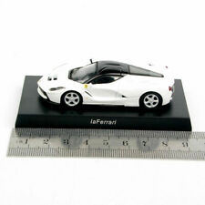 1/64 Scale KYOSHO White LaFerrari Diecast Model Mini Cars Collecte Vehicles Toys