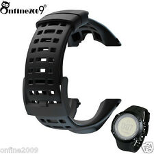Luxury Rubber Watch Replacement Band Strap For Suunto Ambit 3 Peak / Ambit 2 US