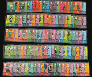 Nintendo Amiibo ANIMAL CROSSING Switch DS SERIES 1 NPC  u pick cards  001 - 017