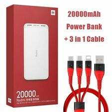Newest Xiaomi Redmi Original Power Bank 20000mAh 18W Quick Charge Power