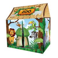Tenda da gioco pieghevole a forma di casa della foresta per bambini Gioco da
