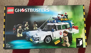 LEGO Ideas Ghostbusters Ecto-1 Complete with Instructions, Box & Figures 21108