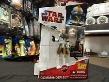 "Star Wars Clone Wars CW39 ""CLONE COMMANDER BLY"" On Card"