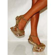 Unbranded Animal Print Wedge Sandals & Beach Shoes for Women