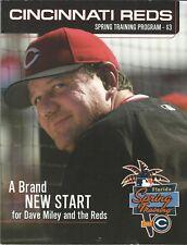 Cincinnati Reds Spring Training Program 2004