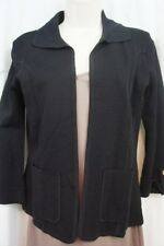 Tahari ASL Cardigan Sz PXS Black GLENDA Rayon Blend Stretchy Evening cardigan