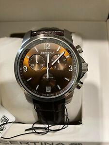 Certina DS Podium Chronograph Brown Dial Men's Watch C0014171629700