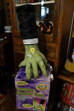 Older Gemmy Crawling Frankenstein Animated Monster Hand Halloween Prop box
