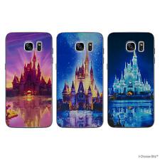 Château de Disney Coque/Etui/Case pour Samsung Galaxy S7 (G930) / Silicone Gel