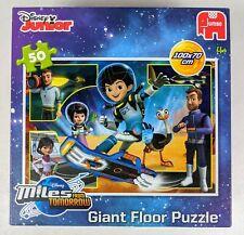 Disney Junior Miles From Tomorrow Giant Floor Puzzle 50 piece!!  (4+) Jumbo