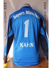 Nº1 Khan Bayern Munich 2004-2005 Goalkeeper Camiseta Futbol Shirt Trikot Maglia