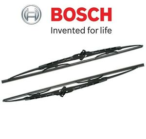 "For Dodge Porsche Set of Left & Right 22"" & 22"" Wiper Blade Bosch Direct Connect"