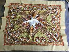 Platki scarf shawl Multi Color 100%  wool Made in Russia