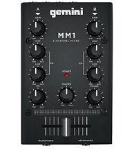 Gemini Mm1 Mixer Compatto 2 Canali per DJ EX Demo