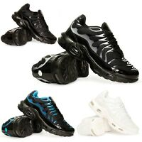 Mens Air Shock Absorbing Casual Running Boys Trainers Jogging Gym Sneakers Size