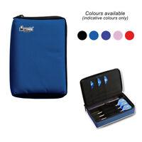BLUE DART CASE Compact Quality Multi Pack Dart Board Dart Carry Case Dart Wallet