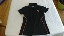 1 NWT UNDER ARMOUR WOMEN'S GOLF SHIRT, SIZE: SMALL, COLOR: BLK  *****B146*