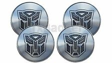 2016 2017 Camaro Wheel Caps Transformer Style Badge Emblem - 4 Count - ABS