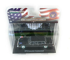 GREENLIGHT PRESIDENTIAL LIMO 1:43 RONALD REAGAN 1972 LINCOLN CONTIN.86110C chase