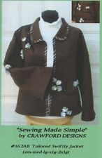 Women's Wool Jacket with Bell Sleeves Sewing Pattern UNCUT S thru XXL