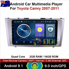 "9""Android 9.1 Quad Core Car Non DVD GPS Stereo For Toyota Aurion Camry 2007-2011"