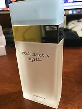 DOLCE GABBANA LIGHT BLUE 3.3 oz D&G WOMEN PERFUME EDT 100ML 3.4 No BOX