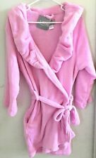 Ulta Bathrobe Pink Short Women's Size S/M Belt Pockets NWT